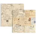 Двухсторонний текстурный картон, 30х30 см, №9