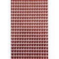 Набор страз, цвет красный, размер упаковки 31,5х 10,5 см