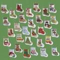 Набор для вышивания рождественских носочков 2
