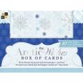 Заготовки для открыток с конвертом Arctic Wishes, 10 штук, 10х14 см, DCWV