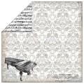 Бумага Melody of Life Piano, Echo Park, 30х30 см, SW1602
