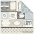 Бумага Melody of Life Journaling, Echo Park, размер 30х30 см, SW1603