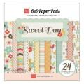 Набор бумаги Echo Park, Sweet Day, 12 листов, размер 15х15 см, SY31023