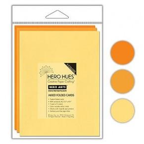 Заготовки для открыток по 4 шт. каждого цвета, Hero Arts, №3
