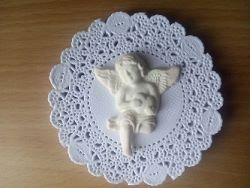 Ангел-полимерная глина