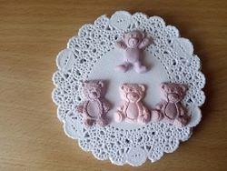 Мишки Тедди из полимерной глины