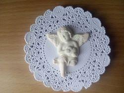 Ангел из полимерной глины