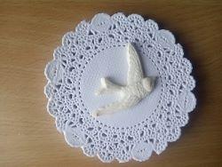 Птичка из полимерной глины