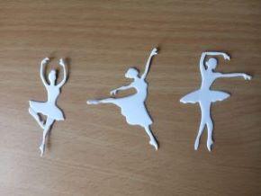 Вырубка для скрапбукинга Балерины